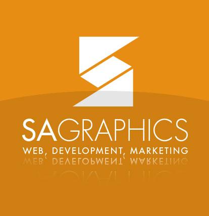 SAGraphics Web Design Logo
