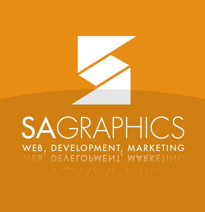 SAGraphics Web Design Logo