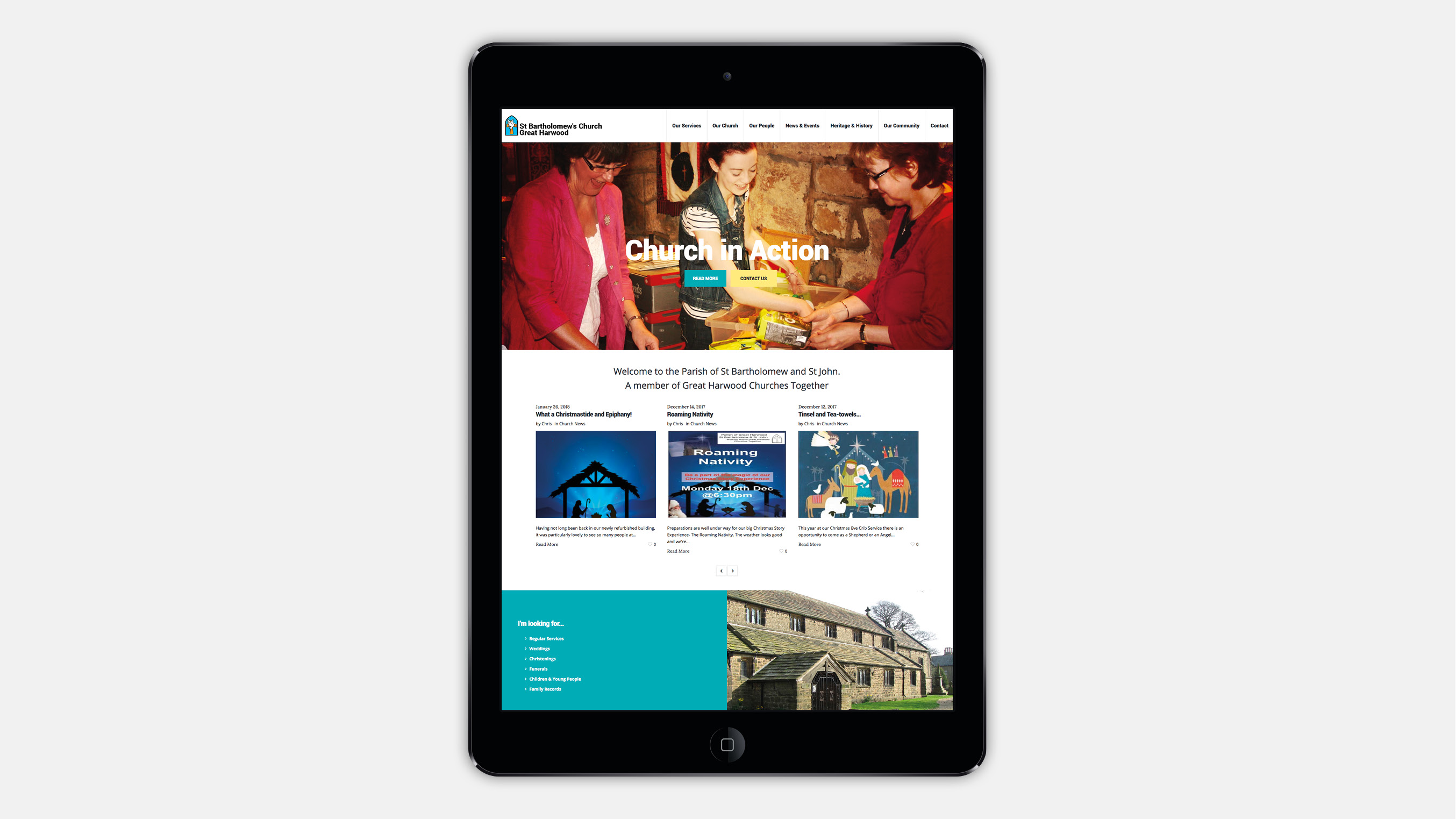 st bartholomews church website great harwood