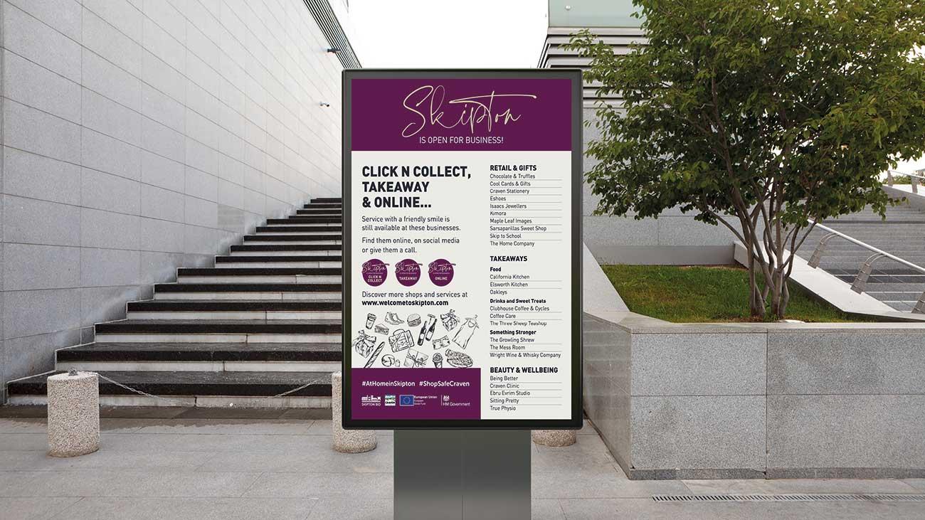 Skipton-Bid-Click-n-Collect-Poster